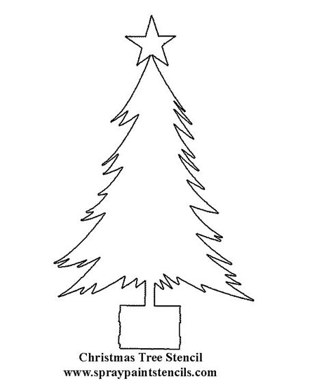 christmas tree tracing pattern 17 best images about stencils on pinterest dolphins