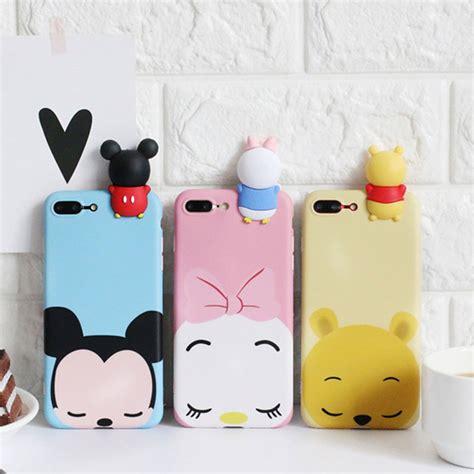 Softcase Silicon Tpu 3d Mickey Minnie Tsum Tsum For Samsung J2 capinha celular tsum 3d para apple iphone 7