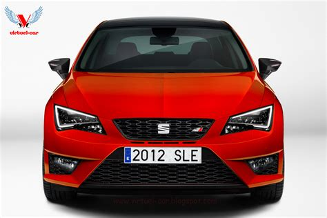 the seat future cars 2013 seat cupra r visualized carscoops