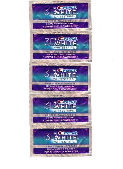 crest  white professional effects whitestrips teeth