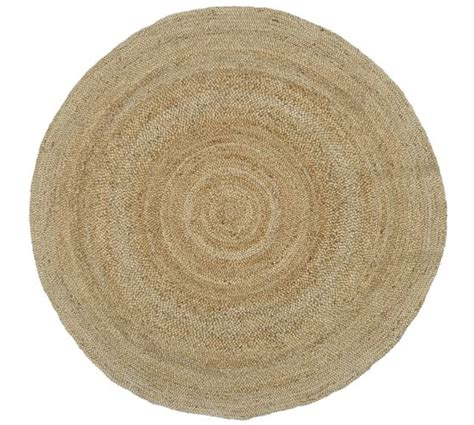 Round Jute Rug Natural Pottery Barn Pottery Barn Jute Rug