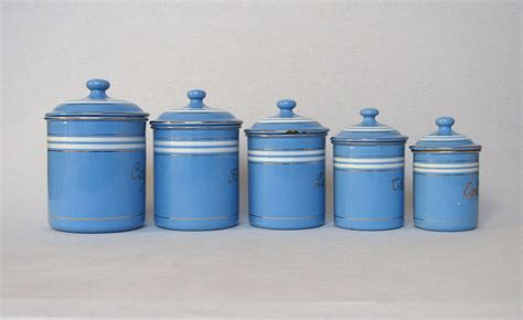 set of sky blue french enamel graniteware kitchen set of sky blue french enamel graniteware kitchen