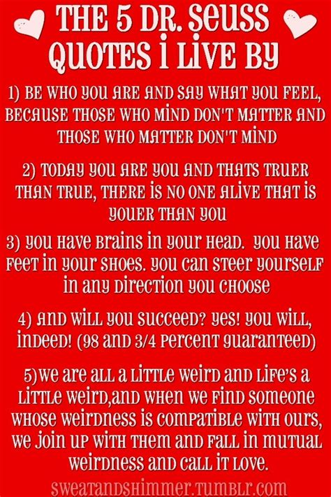 5 Dr. Seuss Quotes to Live Byand a note to Meredith   DRESSED TO A T