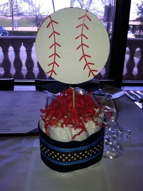 sports themed table decorations sports theme baby shower mini cakes baby shower