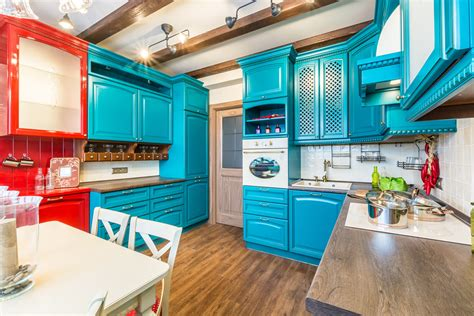 turquoise kitchen design quicua