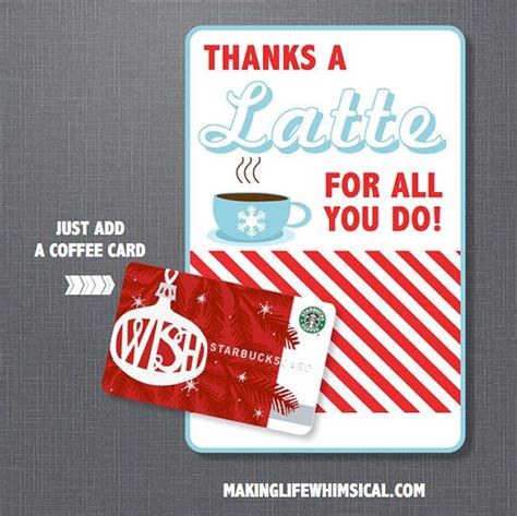 Printable Starbucks Gift Card - 17 best images about teacher appreciation on pinterest smart cookie teaching and