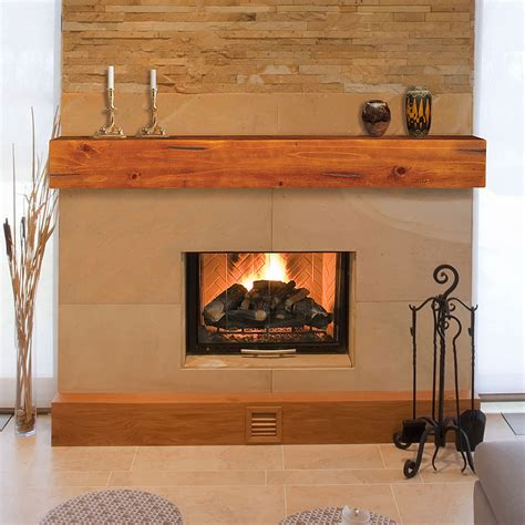 lincoln 72 inch wood fireplace mantel shelf