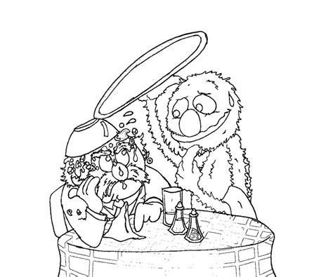 Printable Pictures Of Sesame Street Characters Az Sesame Characters Coloring Pages