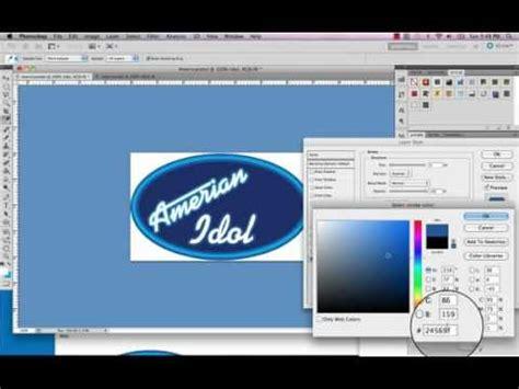 tutorial logo creator español american idol logo tutorial youtube