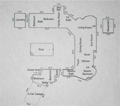 paul revere house floor plan craig harris residence west hills paul revere williams