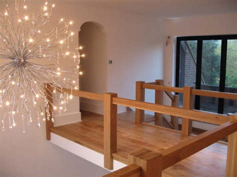glass landing banister staircase specialists the oak townsend stair wooden