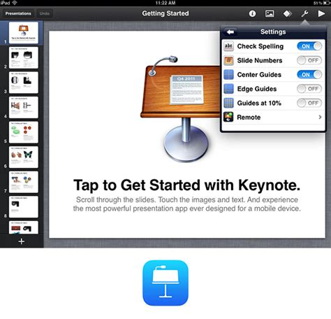 app design keynote 5 beautiful ipad apps to present your portfolio design