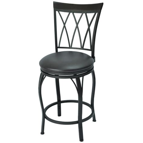 bar and kitchen stools shop bronze 30 in adjustable stool at lowes com