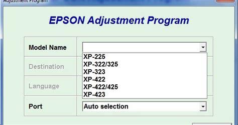 epson xp 225 factory reset reset epson xp225 xp322 xp323 xp325 xp422 xp423