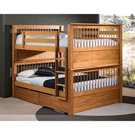 bunk bed with queen size bottom bunk bed with queen size bottom brown wooden bedroom