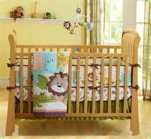 Comforter Sets Murah Barang Baby Murah Complete Baby Bedding Set Safari Zoo