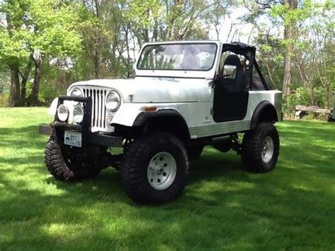 1981 Cj7 Jeep For Sale Sell Used 1981 Amc Jeep Cj7 V8 4spd In Warwick Rhode