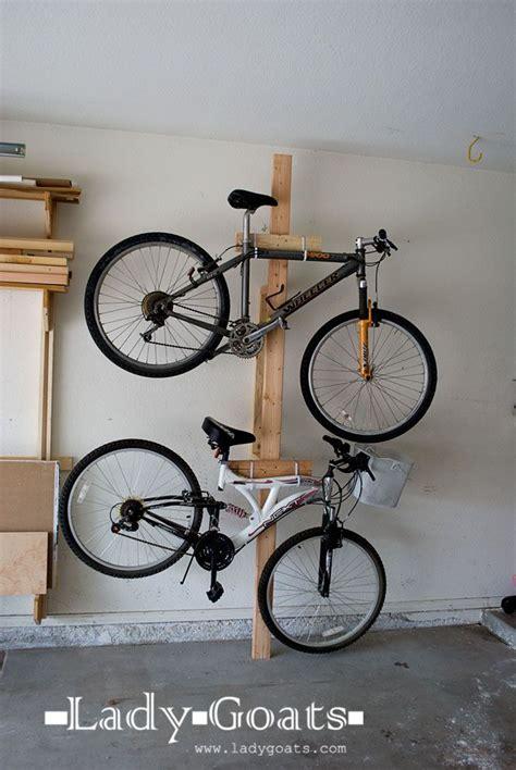 Diy Bike Rack For Garage by Gallery Diy Garage Bike Rack