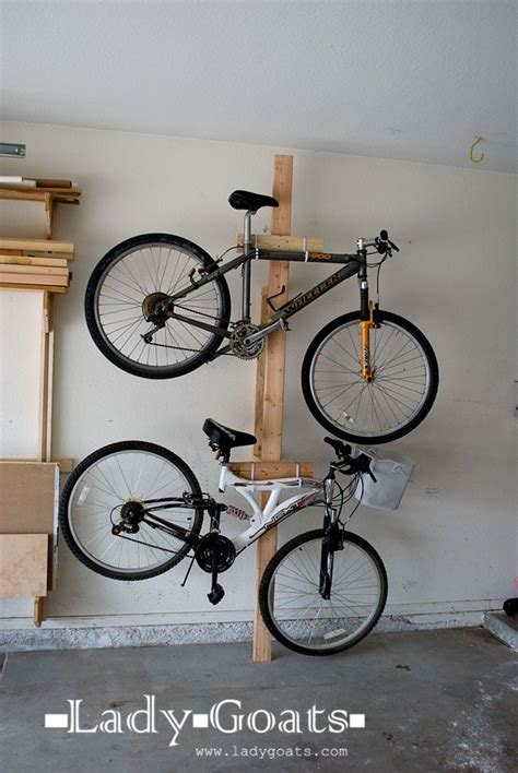 Garage Organization Bike Racks Gallery Diy Garage Bike Rack