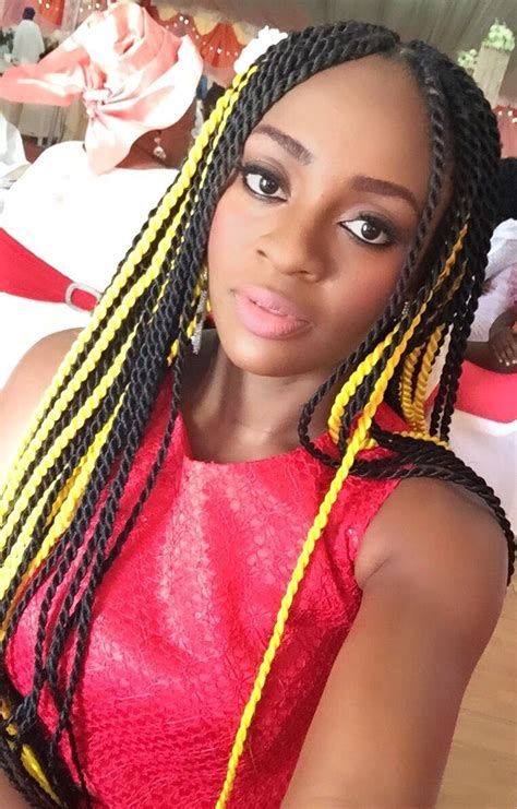 colored braiding hair yellow colored box braids braids box braids colored