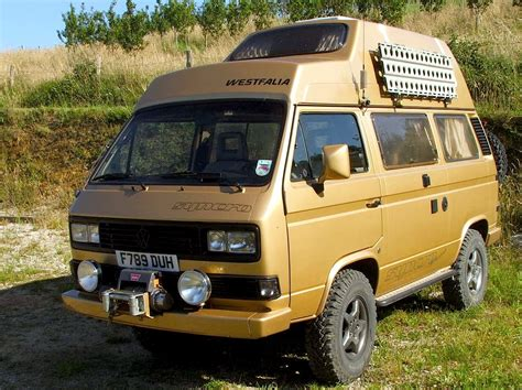 volkswagen westfalia 4x4 vw t3 syncro westfalia vw vans and cers pinterest