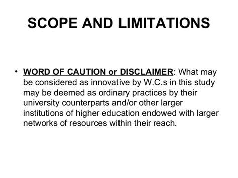 limitations in dissertation scope and limitation of study sle euthanasiapaper x
