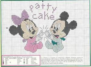 Mickey and minnie mouse cross stitch patterns for cushions or pictures
