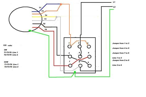 12 lead motor winding diagram wiring schematic wiring