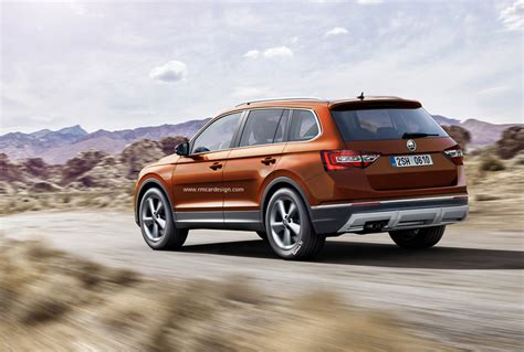 design un graphiste imagine le futur suv skoda 7 places