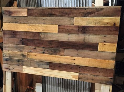 how to make a headboard out of pallets 1000 ideas about barn wood headboard on wood