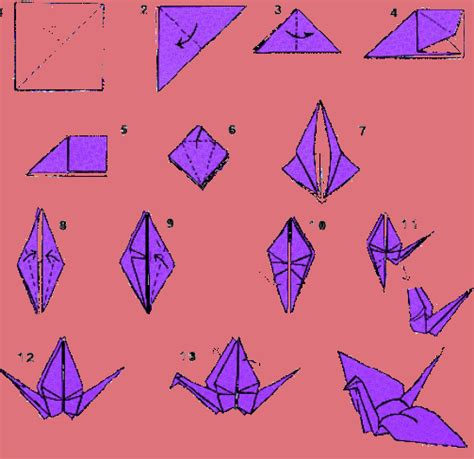 Easy Origami Crane - origami bird 2 make easy origami