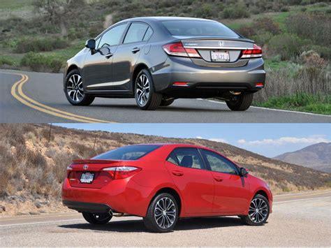 Which Car Is Better Honda Civic Or Toyota Corolla 2014 Mazda3 Vs Honda Civic Vs Kia Forte Vs Toyota Corolla