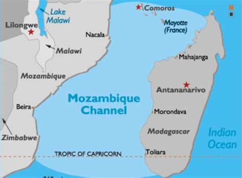 channel map opinions on mozambique channel