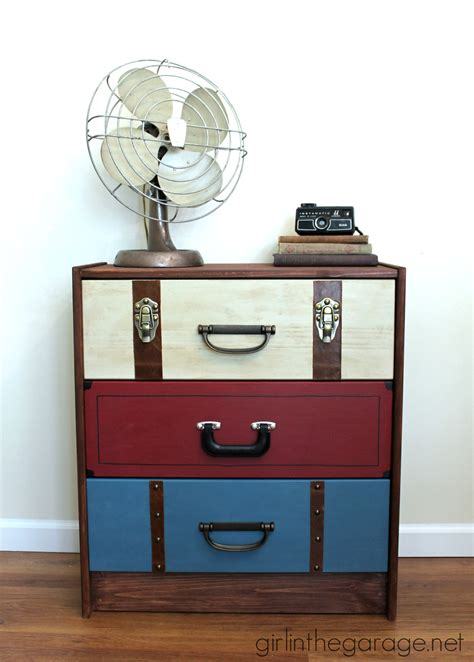 suitcase dresser suitcase dresser ikea rast hack girl in the garage 174