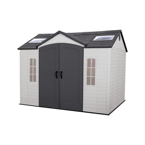 Shed Installer by Us Leisure 10 Ft X 8 Ft Keter Stronghold Resin Storage
