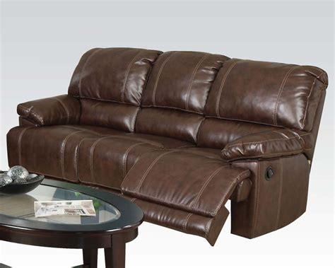 acme furniture reclining sofa daishiro ac50745