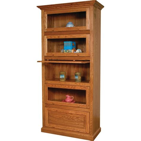 traditional barrister stackable bookcase amish crafted