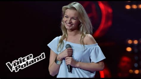 voice of downward magdalena janicka quot cool me quot blind the voice of poland 8