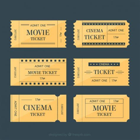 printable movie tickets coupons 20 free coupon and gift voucher templates vector download