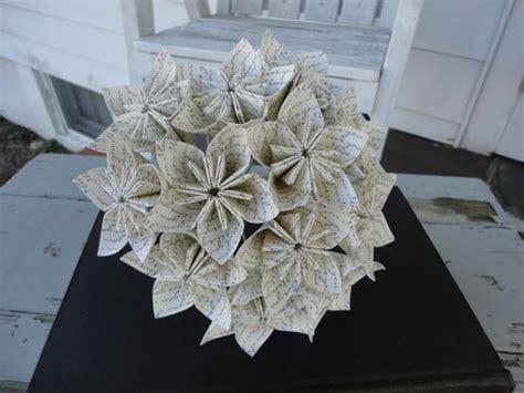Anniversary Origami - i you flowers kusudama bouquet anniversary origami