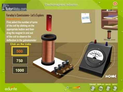 magnetic induction mini project electromagnetic induction