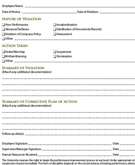 counselling assessment form template 9 sle employee counseling forms sle templates