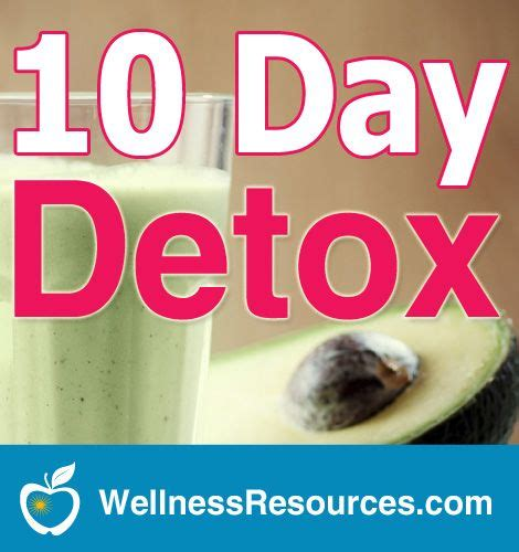 10 Day Diet Detox Resources by 17 Best Images About Detoxification 101 On