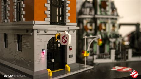 Lego Ghostbusters House by Ghostbusters Hq 2 Built With Bricks