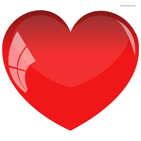 heart pictures images photos red glossy heart icon free vector clipart image 150