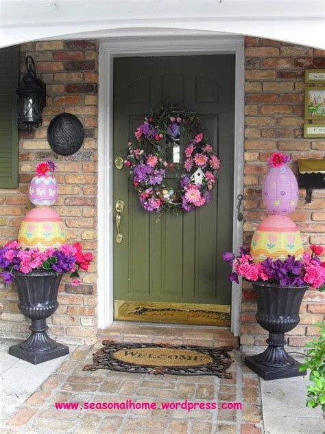 Easter Backyard Decorations by 1000 Ideas About Outdoor Easter Decorations On