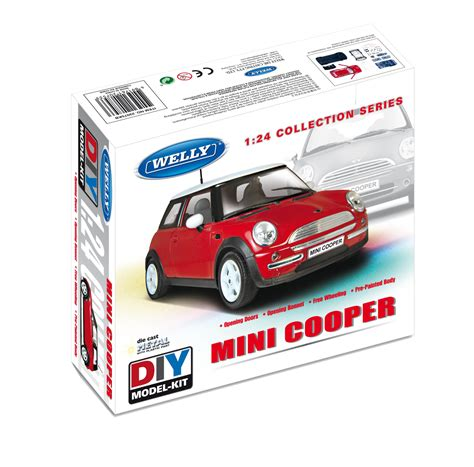 Welly 138 Mini Cooper dromader