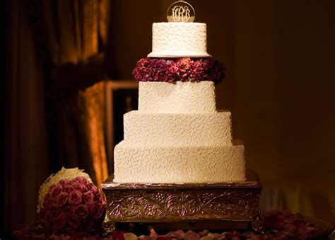 square wedding cake square wedding cakes cake ideas inside weddings