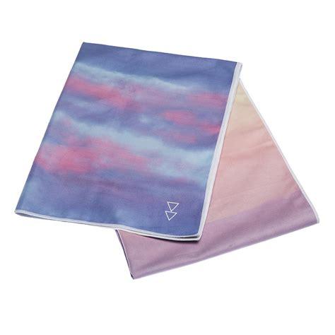 design lab yoga mat towel hot yoga towel breathe