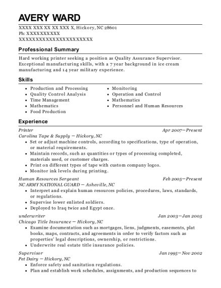 Army Sergeant Resume by Best Human Resources Sergeant Resumes Resumehelp